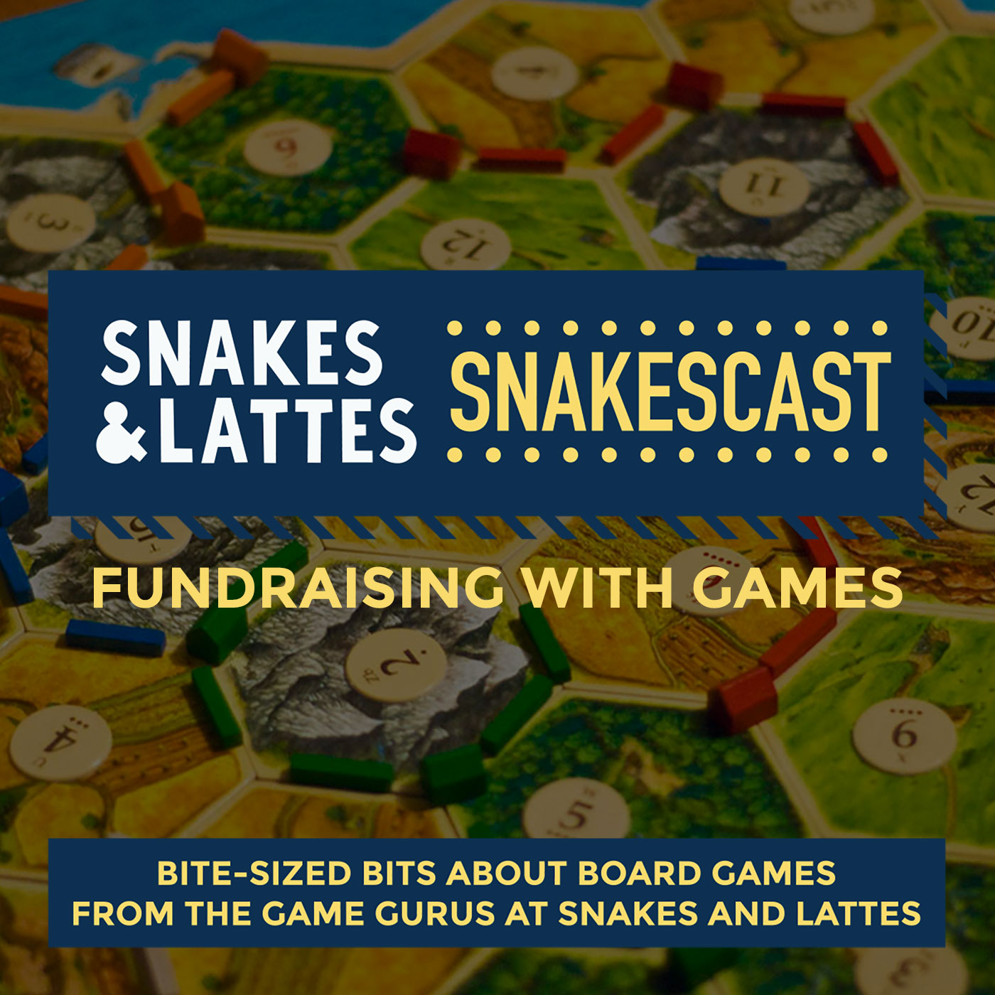 Fundraising with games, Part 3 - Catan, guests and wasabi - oh my!