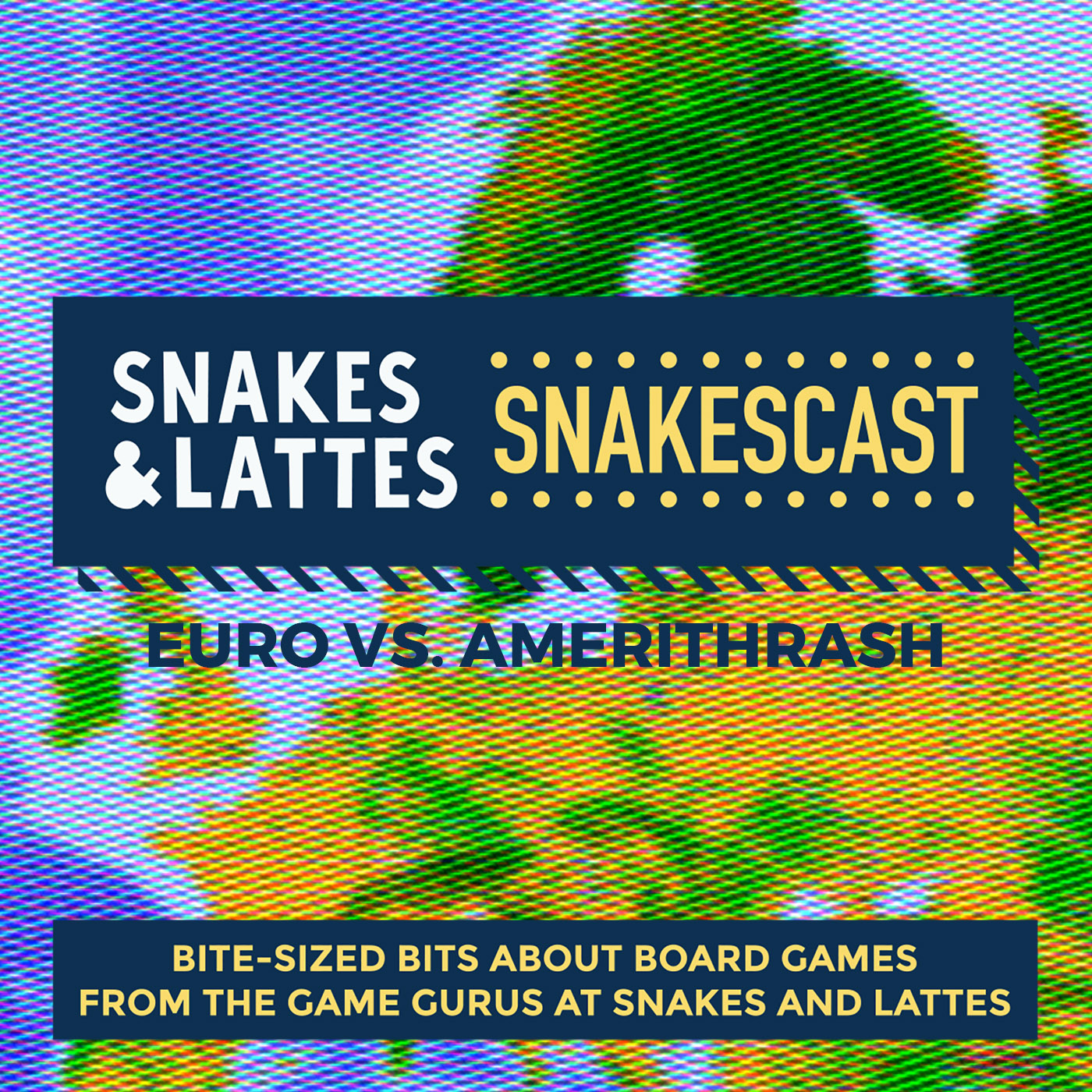 Euro vs. Amerithrash, Part 1 - What is a Euro game?