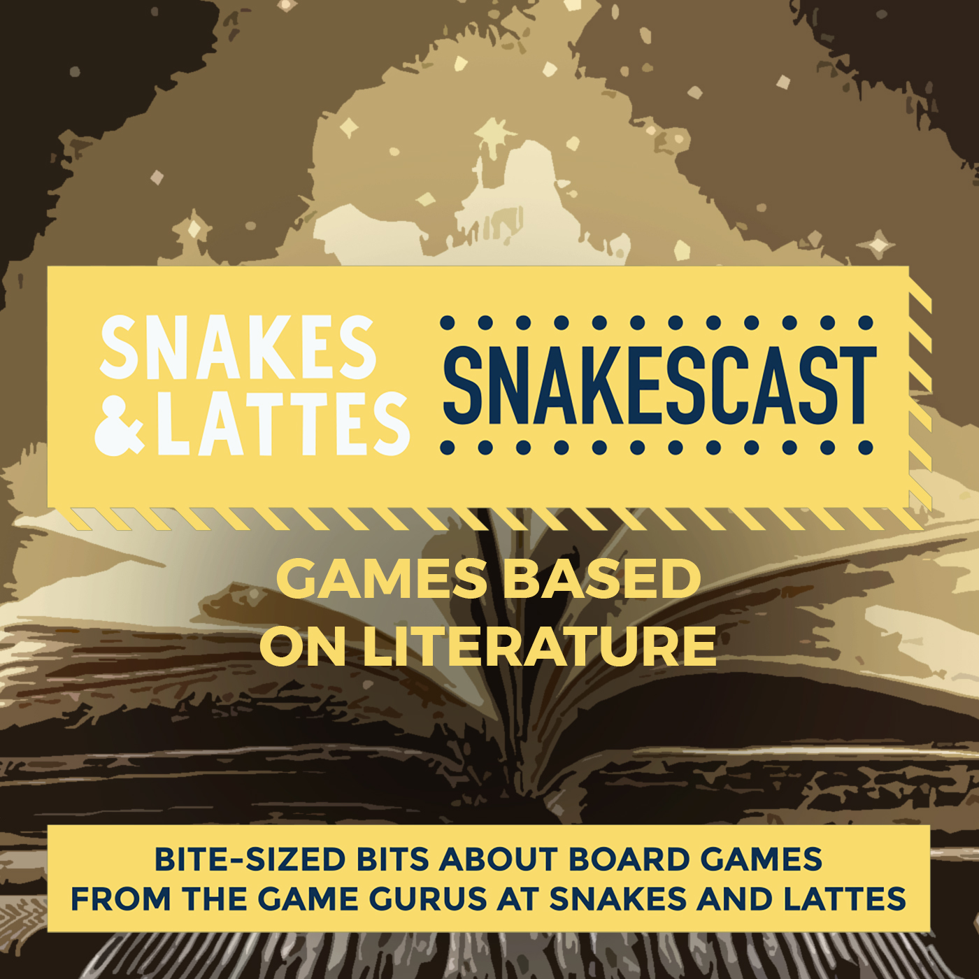 Games Based on Literature, Part 1 - On works of fiction